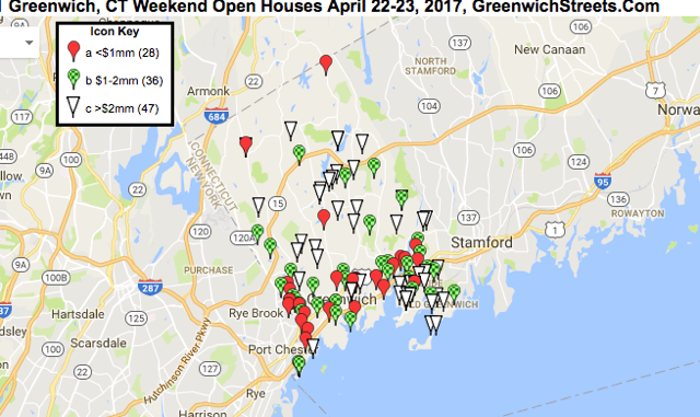 Greenwich, CT Open Houses